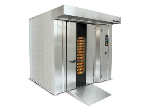 Oven Rotary rotary rack oven front burner
