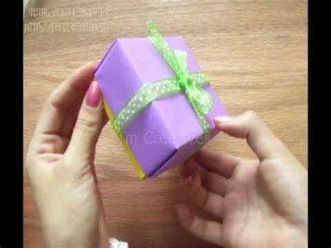 como hacer una vaguita en foy caja de papel cartulina etc f 193 cil youtube