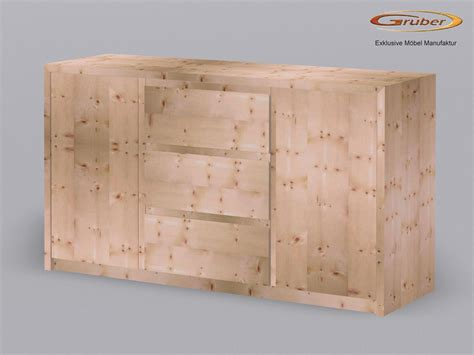 kommode zirbe zirbenholz kommode m 246 belmanufaktur gruber zirbenbett