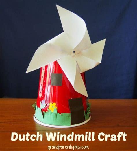 Paper Windmill Craft - orange tapioca fruit salad recipe crafts windmills