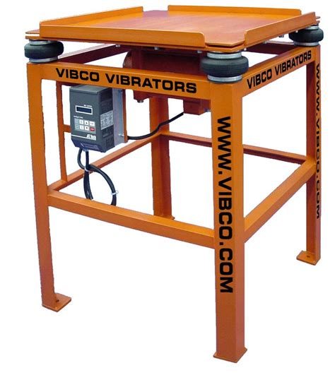 Vibrating Table by Vibco Revolutionizes The Production Of Vibrating Tables To