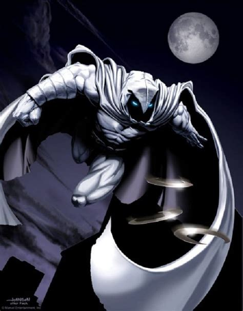 moon knight artwork i enjoy cartoons amp comic books