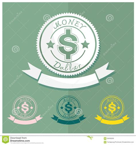The Symbol Of Percent On The Background Of Money . Stock