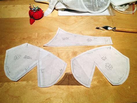 How To Make A Paper Bra - copying a favourite bra fehrtrade