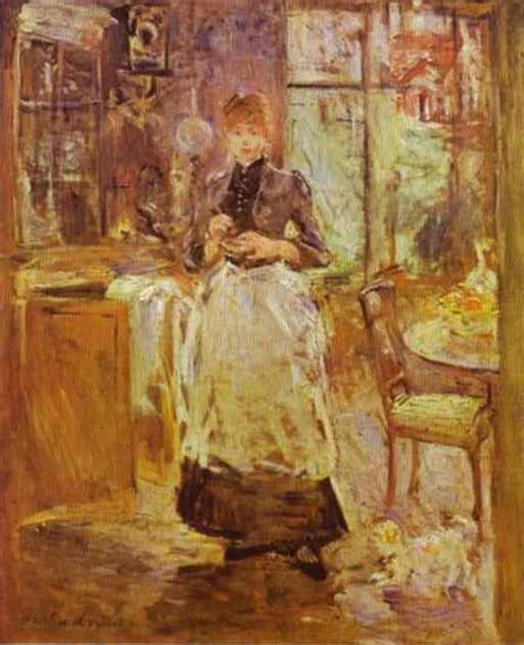 Berthe Morisot In The Dining Room Berthe Morisot Quotes Image Quotes At Hippoquotes