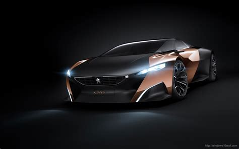 hd wallpapers for windows 10 cars peugeot onyx concept hd car background wallpaper