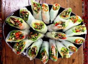 How To Make Chicken Rice Paper Rolls - food intolerance friendly rice paper rolls