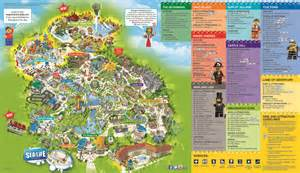 amusement parks california map theme park website theme park maps