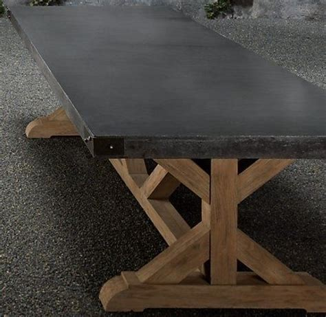 a concrete table top concrete top table by nuele bret s office