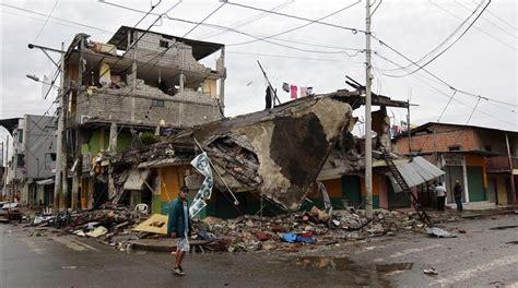imagenes sorprendentes del terremoto en ecuador el terremoto de ecuador del 2016 en fotos