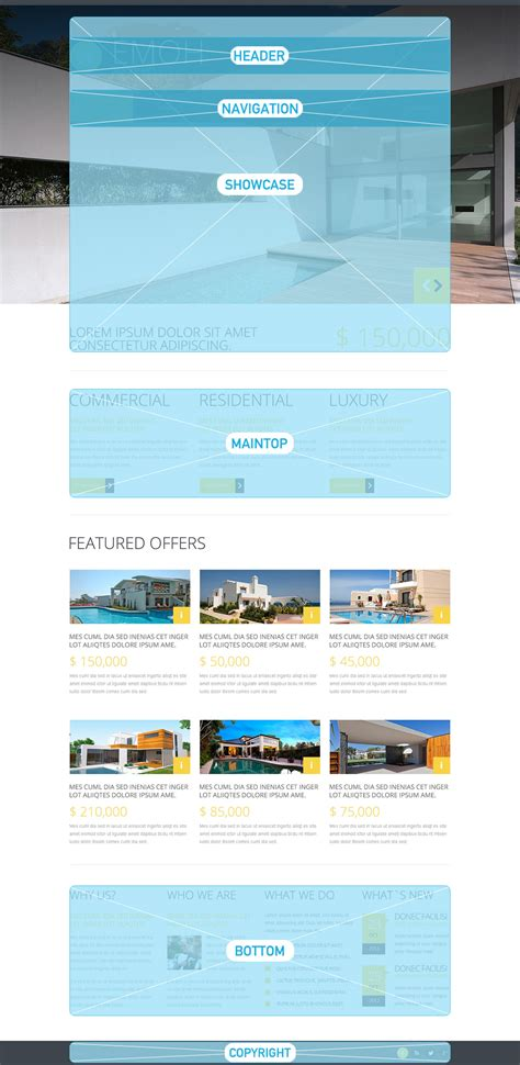 real estate agency joomla template 48259