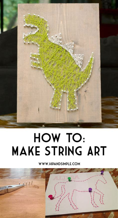 how to make string hip simple