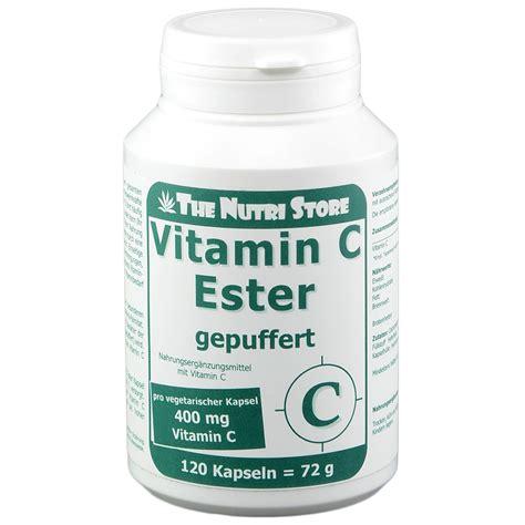 vitamina c ester vitamin c ester gepuffert 400 mg vegetarisch shop
