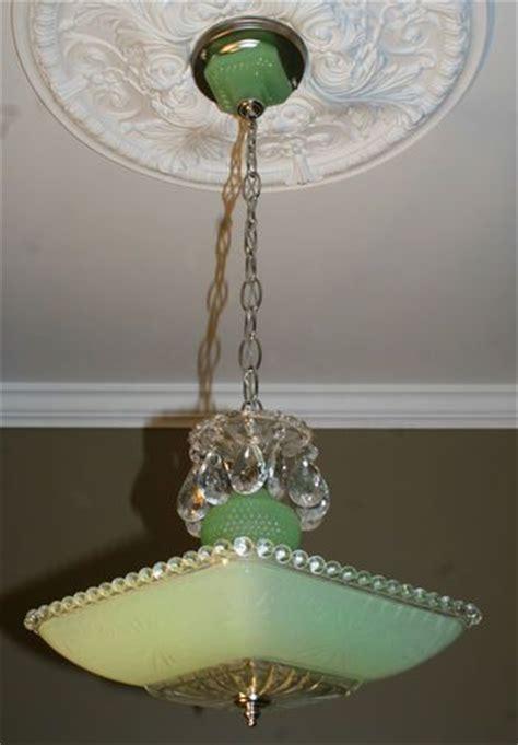 antique vintage deco light fixture ceiling chandelier
