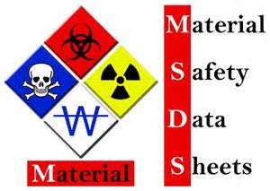 product resources msds data letters reports