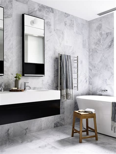Black And White Bathroom Tile Ideas best 25 black white bathrooms ideas on pinterest