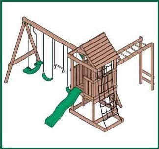 swing set building plans home ideas 187 playset building plans
