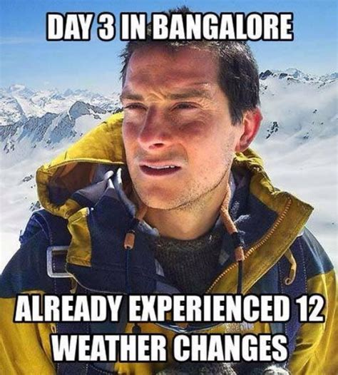 Viral Meme - viral memes on bangalore weather traffic night life