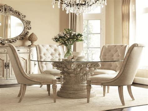 tufted dining room chairs white set ideas