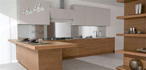 Special Design Modern Wood And Lacquered Kitchen Modern Wood Kitchen Design