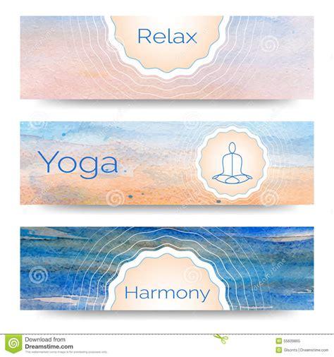 banner design for yoga professional banner templates or banner design for yoga