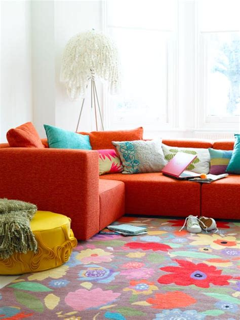 bright living room 50 bright and colorful room design ideas digsdigs
