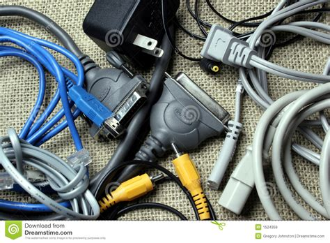 cords and cables royalty free stock images image 1524359