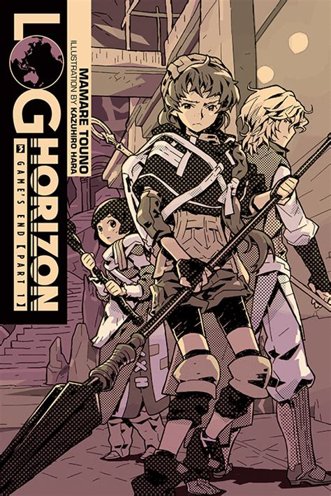 Log Horizon Vol 9 Light Novel Go East Kanami s end part 1 log horizon wiki fandom powered by