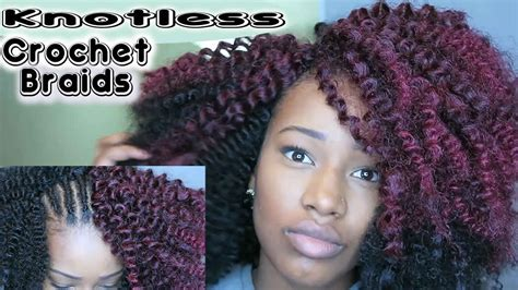 how to make hair fuller with crochet braids how to install knotless crochet braids youtube