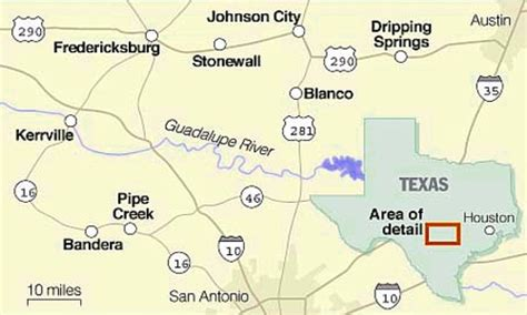where is bandera texas on map bandera county texas