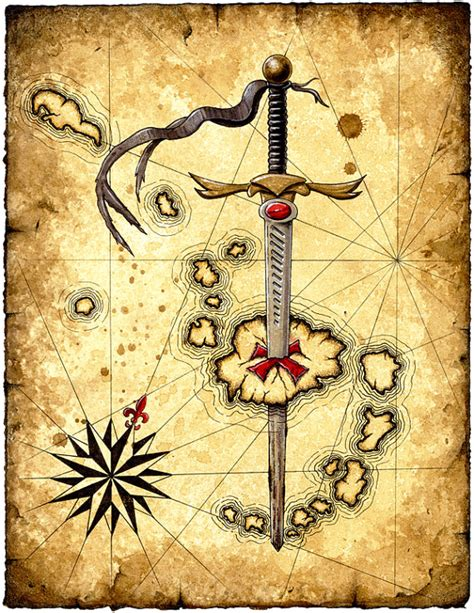 by the sword medievalgothic pirate pinterest sword island art print swords medieval weapons pirate