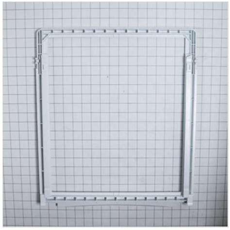 frigidaire upper crisper drawer cover frigidaire ffhs2622mba frame upper crisper drawer