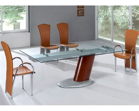 glass dining table set modern dining set glass top table european design 33d241