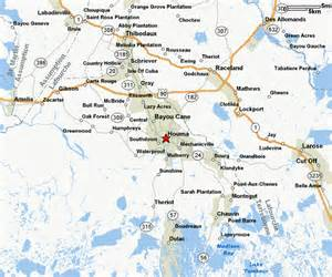 Houma Louisiana Map by Map Of Houma La Related Keywords Amp Suggestions Map Of