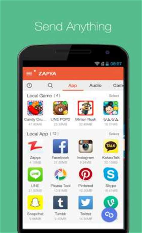 Android Nearby Exle zapya file transfer 5 3 apk android exe windows