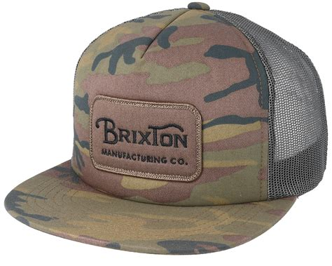 Vans Era Camo Grade A grade mesh camo trucker brixton caps hatstoreworld