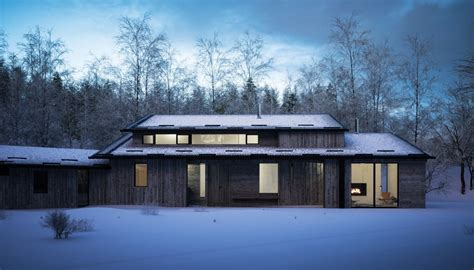 Quarry House by Quarry House In The Cairngorms National Park E Architect
