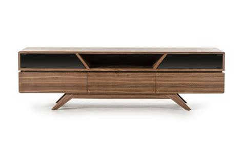 Mid Century Modern Walnut Wood Tv Media Stand Modern Modern Furniture Tv Stand