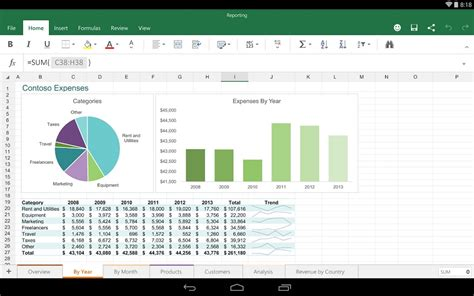 excel for android microsoft office preview for android tablet released techloverhd