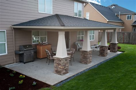 covered patio ideas sublimity covered patio hueller construction