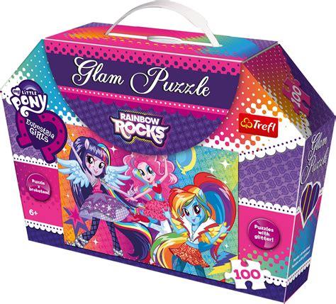 Best Terlaris Puzzle Jigsaw Frozen 100 Pcs Sni trefl 100 glam glitter my pony rainbow