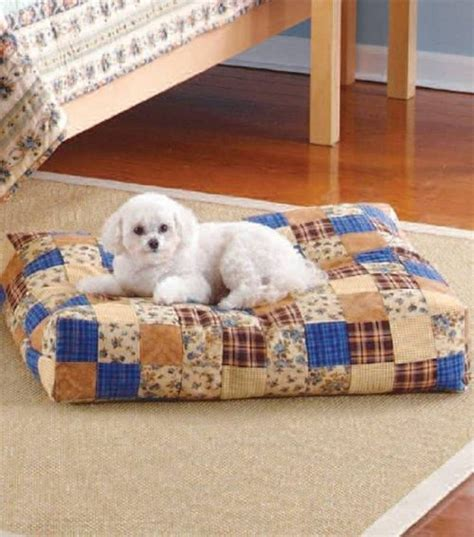 dog bed patterns how to make a bed for your dog using fleece or scrap