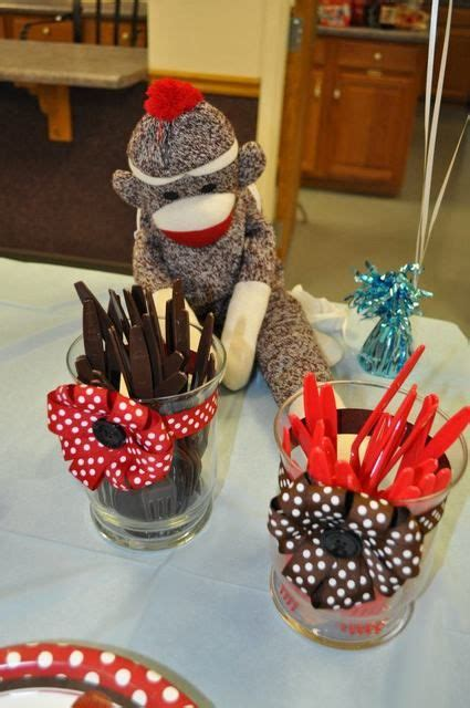 Sock Monkey Decorations by 122 Best Images About Birthday Baby Shower Sock Monkey