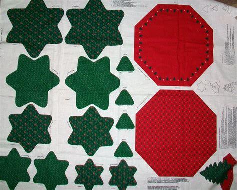 Minidress With Cotton Materials J56903 mini tree skirt cotton fabric panel sew and stuff ebay
