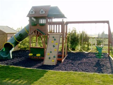 project   build  childrens play area  play