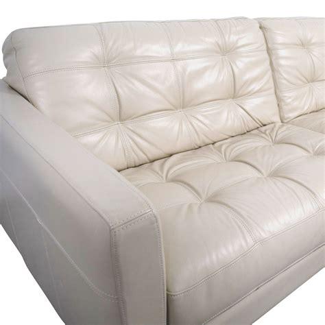 48 macy s macy s white leather tufted sofa sofas