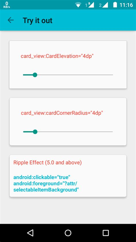 tutorial material design android material design tutorial android app materialup