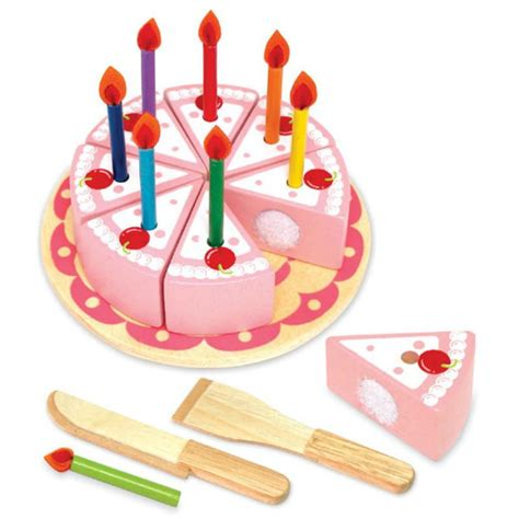 birthday toys wooden birthday cake a birthday cake