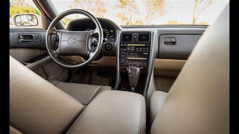 lexus ls400 interior luxury cars the original 1990 lexus ls400 exterior