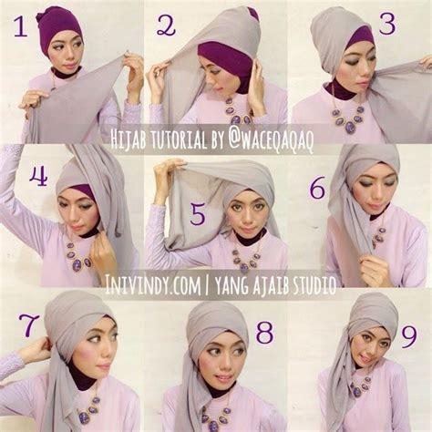 tutorial hijab segitiga renda 42 tutorial model hijab segitiga terupdate 2017 2018